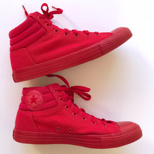 CONVERSE Fresh Red High Top UNISEX Sneakers